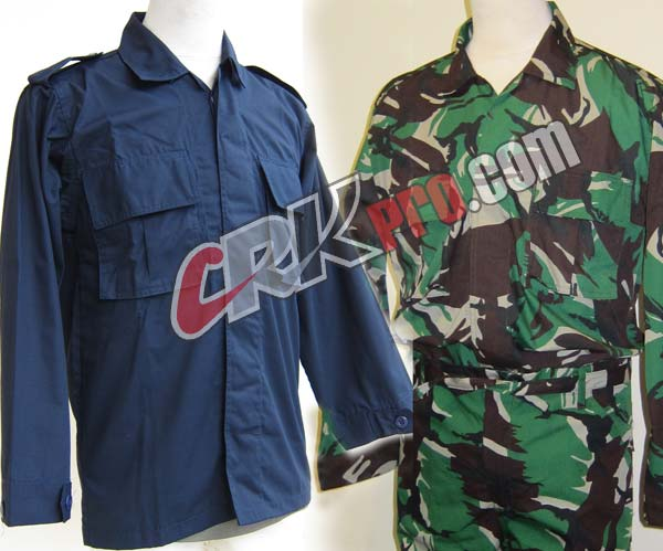 Pakaian dinas lapangan atau baju pdl untuk pria dan wanita modelnya 3c4dd89149