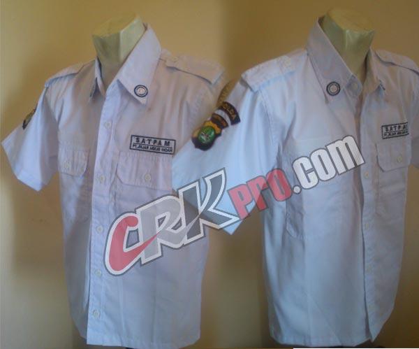 Seragam satpam baju pdh security pakaian dinas harian